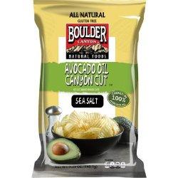 Boulder Canyon Avocado Oil Canyon Cut potato chips